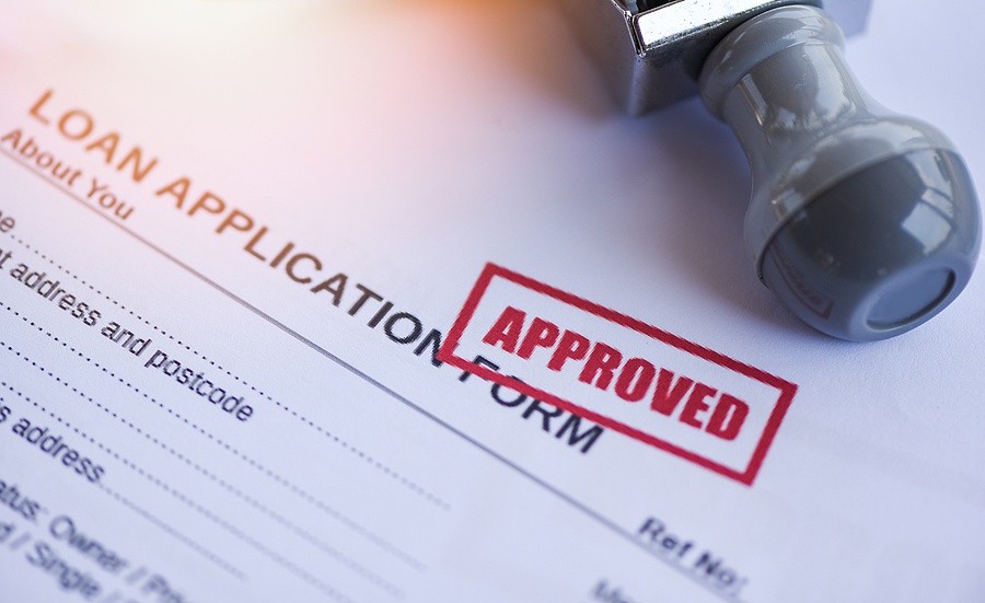 Loan Approval / Financial Loan Application Form For Lender And B